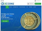 [PAYING] 2coins.biz - Min 10$ (daily for 20 calendar days) RCB 80% 2coins.biz.tmb