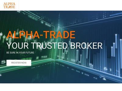 [SCAM] alpha-trade.biz - Min 10$ (5-10% per day until reaching 200%) RCB 80% Alpha-trade.biz