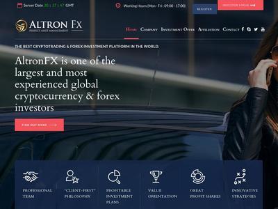 [SCAM] ALTRONFX - altronfx.com - Refback 80% - 0.20% h x 725 h - Entrada 20$ Altronfx.com