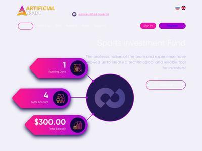 [SCAM] artificial-trade.biz - Min 5$ (Hourly For 120 Hours) RCB 80% Artificial-trade.biz