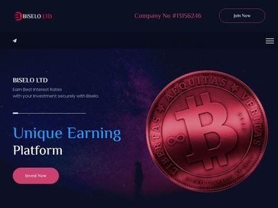 [SCAM] biselo.top - Min 10$ (10.00% Daily Forever) RCB 80% Biselo.top