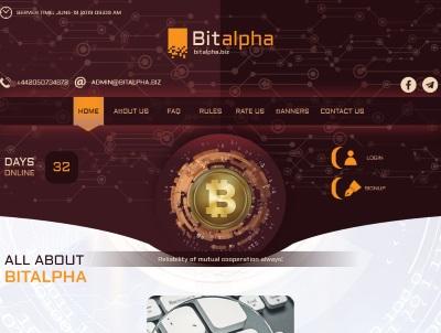 [SCAM] bitalpha.biz - Min 10$ (After 1 Day) RCB 80% Bitalpha.biz