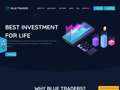 BLUE-TRADERS - blue-traders.com