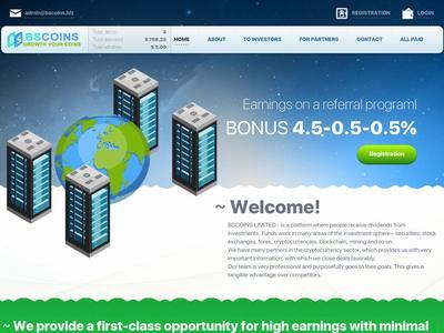 [SCAM] bscoins.biz - Min 1$ (hourly for 46 hours) RCB 80% Bscoins.biz