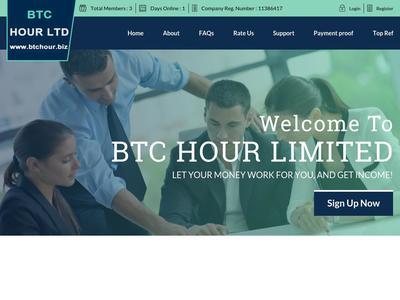 [PAYING] [DELETE ACCOUNTS] btchour.biz - Min 5$ (Hourly For 35 Hours) RCB 80% Btchour.biz
