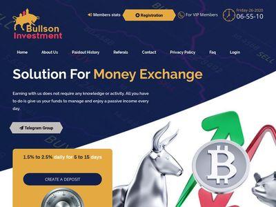 BULLSON-INVESTMENT - bullson-investment.com
