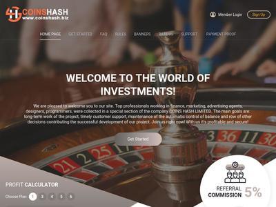 [SCAM] coinshash.biz - Min 1$ (Hourly for 37 Hours) RCB 80% Coinshash.biz