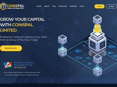 [SCAM] coinspal.biz - MIn 5$ (Hourly For 36 Hours) RCB 80% Coinspal.biz