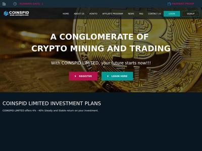[PAYING] coinspid.com - Min 1$ (Hourly For 50 Hours) RCB 80% Coinspid.com