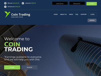 [SCAM] cointrading.cc - Min 10$ (Hourly For 90 Hours) RCB 100% Cointrading.cc