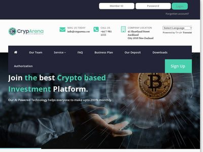 cryparena.com