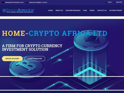[SCAM] CRYPTO AFRICA - cryptoafrica.club - RCB 80% - Hourly For 24 Hours - Min 1$ Cryptoafrica.club