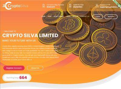 [PAGANDO] cryptosilva.com - Min 10$ (After 1 Day) RCB 80% Cryptosilva.com