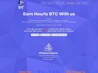 [SCAM] earnhourlybtc.com - Min 5$ (Hourly For 90 Hours) RCB 80% Earnhourlybtc.com