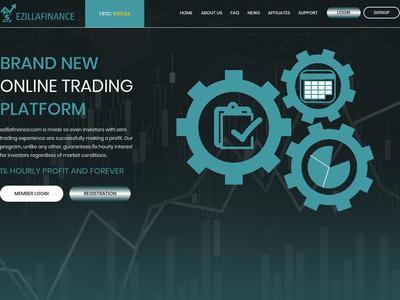 [SCAM] ezillafinance.com - Min 1$ (hourly For 3 Hours) RCB 80% Ezillafinance.com