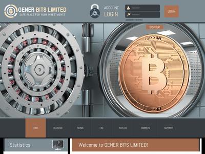 [SCAM] generbits.biz - Min 5$ (Hourly For 36 Hours) RCB 80% Generbits.biz