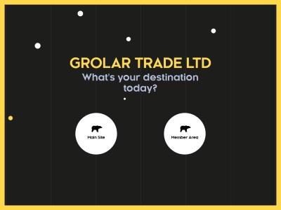 [PAGANDO] grolar-trade.biz- Min 10$ (3.00% Daily for 3 days) RCB 80% Grolar-trade.biz