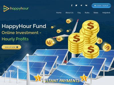 [SCAM] happyhour.fund - Min 10$ (Hourly for 92 hours) RCB 80% Happyhour.fund