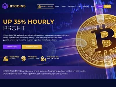 [SCAM] hitcoins.biz - Min 1$ (Hourly For 60 Hours) RCB 80% Hitcoins.biz