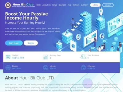 [SCAM] HOUR BIT - hourbit.club - RCB 80% - Hourly por 32 Horas - Min 6$ Hourbit.club