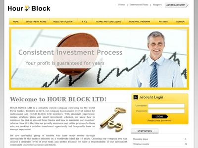 [SCAM] hourblock.biz - MIn 1$ (Hourly For 24 Hours) RCB 80% Hourblock.biz