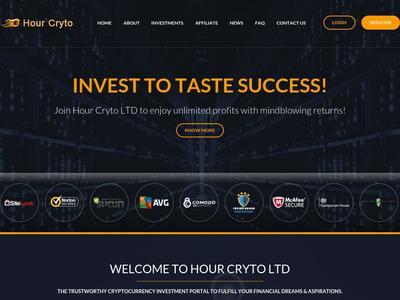 Hourcryto - [SCAM] hourcryto.com - Min 5$ (Hourly For 12/32 Hours) RCB 80%  Hourcryto.com