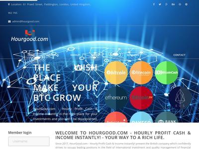 [PAYING] hourgood.com - Min 5$ (HOurly For 96 Hours) RCB 80% Hourgood.com