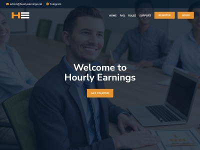 [PAYING] hourlyearnings.net - Min 10$ (Hourly For 24 Hours) RCB 80% Hourlyearnings.net