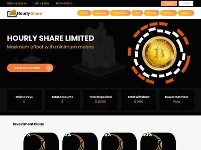 [SCAM] hourlyshare.com - Min 5$ (Hourly For 16 Hours) RCB 80% Hourlyshare.com