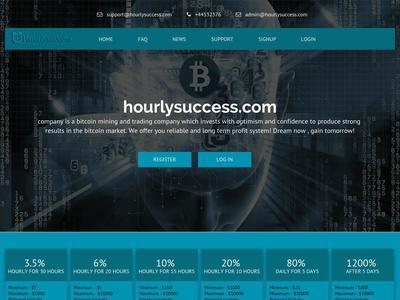 [SCAM] hourlysuccess.com - Min 1$ (Hourly For 30 Hours) RCB 80% Hourlysuccess.com