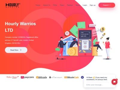 hourlywarrios.com