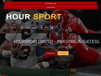 [SCAM] hoursport.com - Min 6$ (Hourly For 24 Hours) RCB 100% Hoursport.com