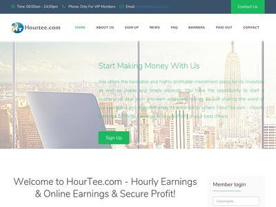 [SCAM] hourtee.com - Min 10$ (Hourly For 100 Hours) RCB 80% Hourtee.com