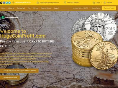 [SCAM] hugecoinprofit.com - Min 1$ (Hourly For 6 Hours) RCB 80% Hugecoinprofit.com