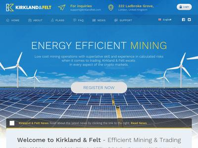 [SCAM] kirklandfelt.com - Min 10$ (2% DAILY FOR 15 DAYS) RCB 80% Kirklandfelt.com