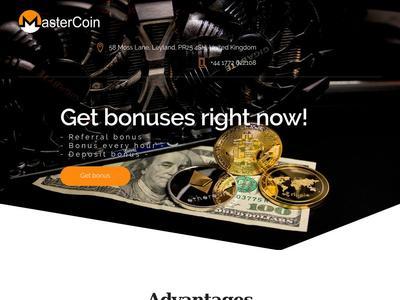[PROBLEMAS] mastercoin.pro - Min 0.10$ (Free Reg bonus 1000 Gh/s) RCB 80% Mastercoin.pro