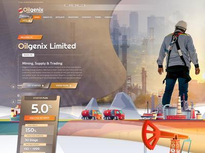 [PAGANDO] OILGENIX - oilgenix.biz - RCB 80% - Daily For 30 Days - Min 10$ Oilgenix.biz