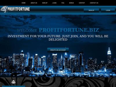 [SCAM] profitfortune.biz - Min 1$ (Hourly For 3 Hours) RCB 80% Profitfortune.biz