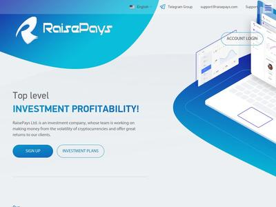 [PAYING] raisepays.com - Min 10$ (Hourly For 80 Hours) RCB 80% Raisepays.com