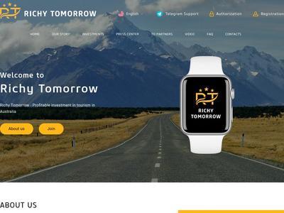 [SCAM] RICHY TOMORROW - richytomorrow.com - RCB 80% - 7% Daily for 20 working days - Min 20$ Richytomorrow.com