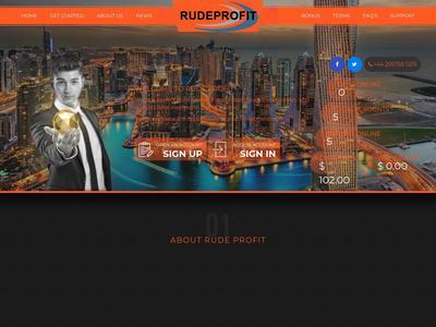 [SCAM] rudeprofit.com - Min 1$ (Hourly For 7 Hours) RCB 100% Rudeprofit.com