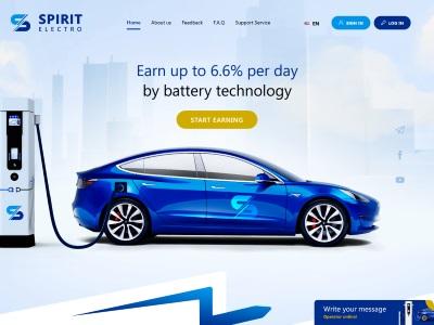 [PAYING] spiritelectro.com - Min 5$ (2.2% daily for 18 days) RCB 80% Spiritelectro.com