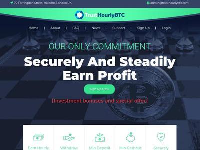 [SCAM] trusthourlybtc.com - Min 5$ (Hourly For 68 Hours) RCB 80% Trusthourlybtc.com