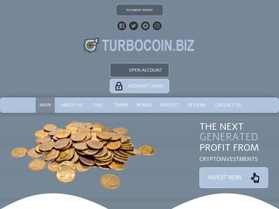 [SCAM] turbocoin.biz - Min 2$ (Hourly For 14 Hours) RCB 80% Turbocoin.biz